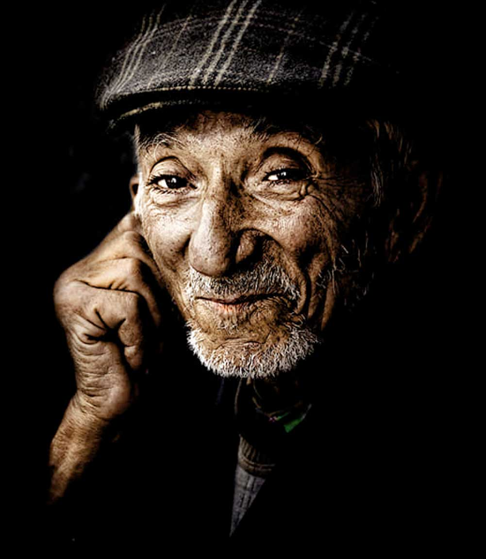 Helping old people in difficult circumstances